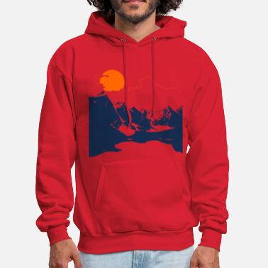 Explorer Mountains - Men's Hoodie