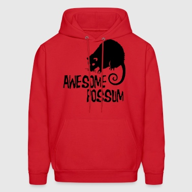 Awesome Possum - Men's Hoodie