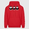 3 Monkeys - Men's Hoodie