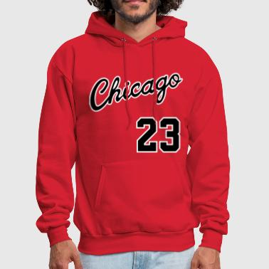Chicago 23 Script Shirt - Men's Hoodie