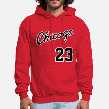 Jordan Chicago 23 Script Shirt - Men's Hoodie