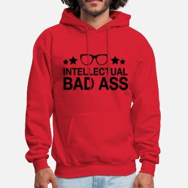 Geek Intellectual Bad Ass Nerd - Men's Hoodie