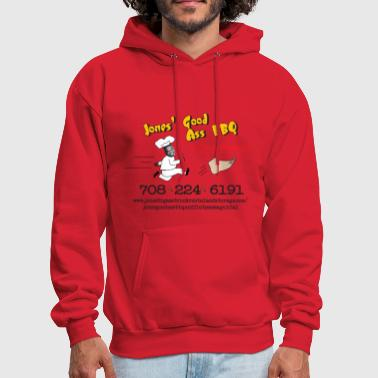 Bbq Jones Good Ass BBQ and Foot Massage logo - Men's Hoodie