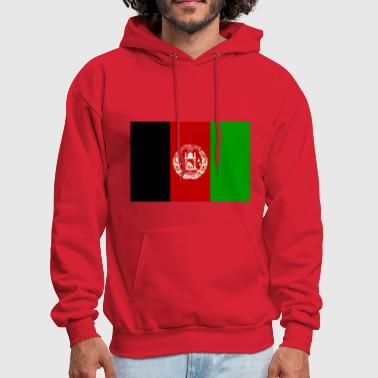 Afghanistan country flag love my land patriot - Men's Hoodie