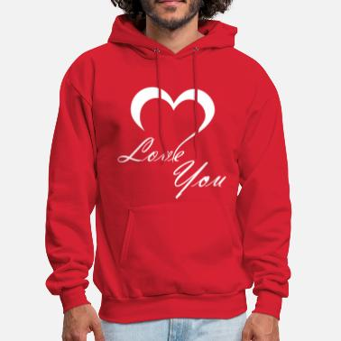 Love You Love You - Men's Hoodie