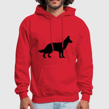 Dog - german shepherd - Men's Hoodie