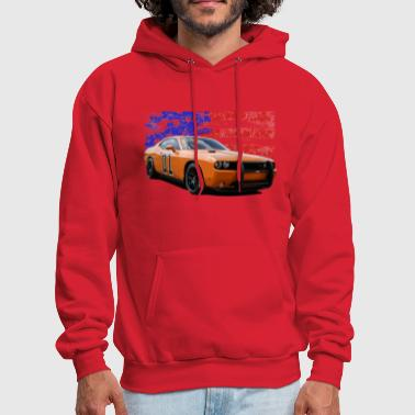Dodge Challenger RT America Muscle Car Shirt - Men's Hoodie