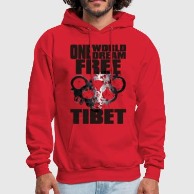 ONE WORLD ONE DREAM FREE TIBET - Men's Hoodie