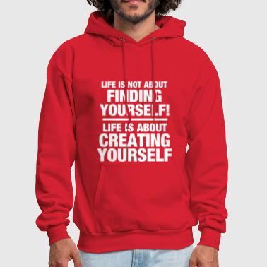 Motivation Create Yourself - Men's Hoodie