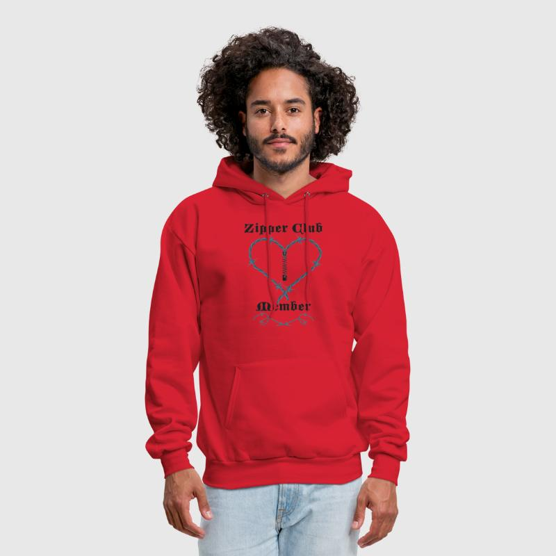 Zipper Club Member - Men's Hoodie