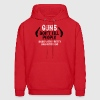 Guns don't kill people Dads with pretty daughters - Men's Hoodie