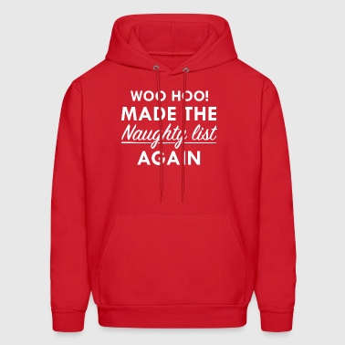 Naughty List - Men's Hoodie