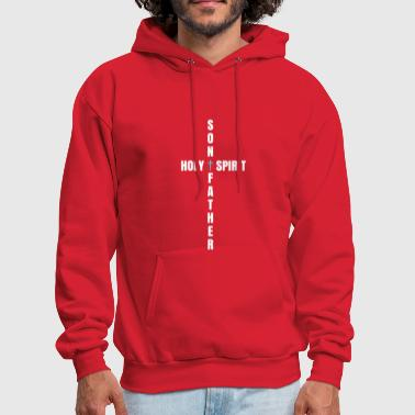 Holy Spirit Father, Son, and Holy Spirit - Men's Hoodie