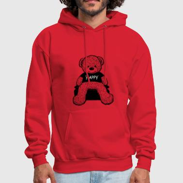 Happy bear - Men's Hoodie