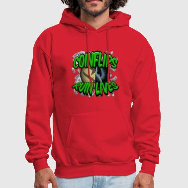 Strike COINFLIPS RUIN LIVES - Men's Hoodie