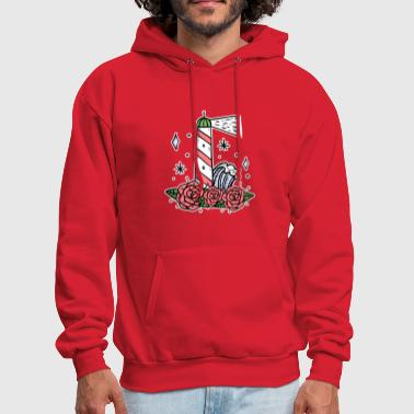Lighthouse coast North Sea holiday gift - Men's Hoodie