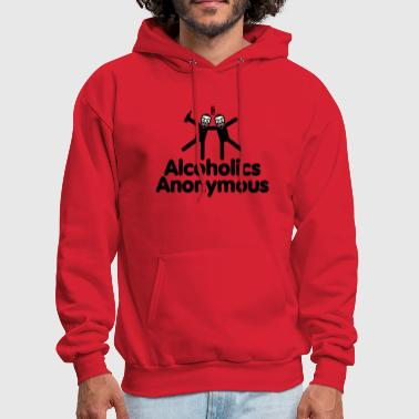 Alcoholics Anonymous - Men's Hoodie