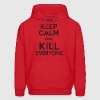 Keep Calm Deadpool - Men's Hoodie