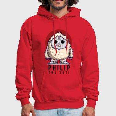 Yeti Philip the Yeti - Men's Hoodie