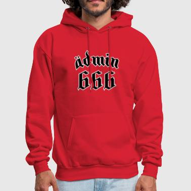 666 Number of the Beast Funny T shirt - Men's Hoodie