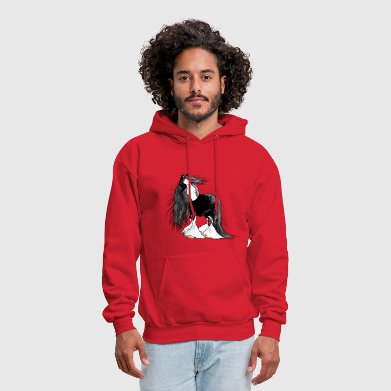 Gentle Giant - Shire Horse - Cartoon - Men's Hoodie