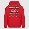 Back to the Future Ugly Christmas Sweater - Men's Hoodie