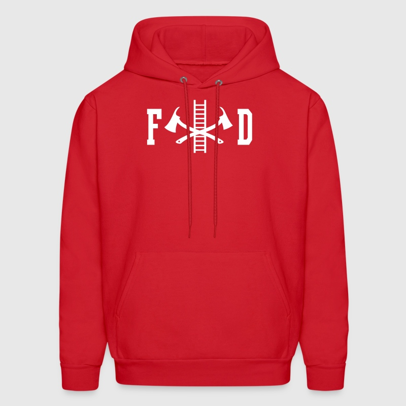 FD Fire Department - Men's Hoodie