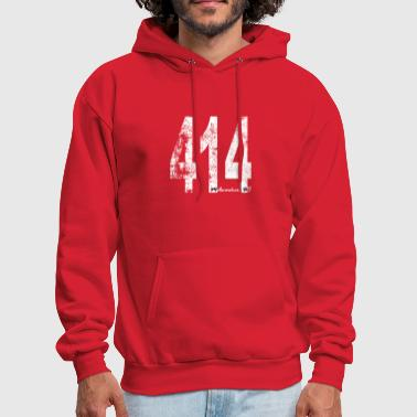 Vintage Milwaukee Area Code 414 - Men's Hoodie