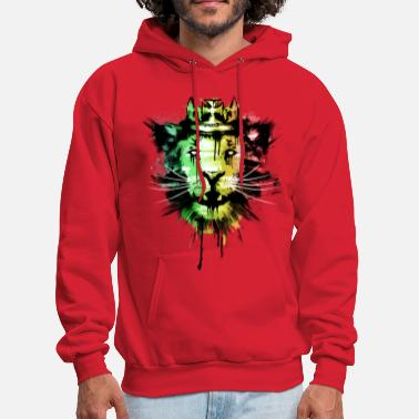 Rasta Spirit of the Rasta - Men's Hoodie