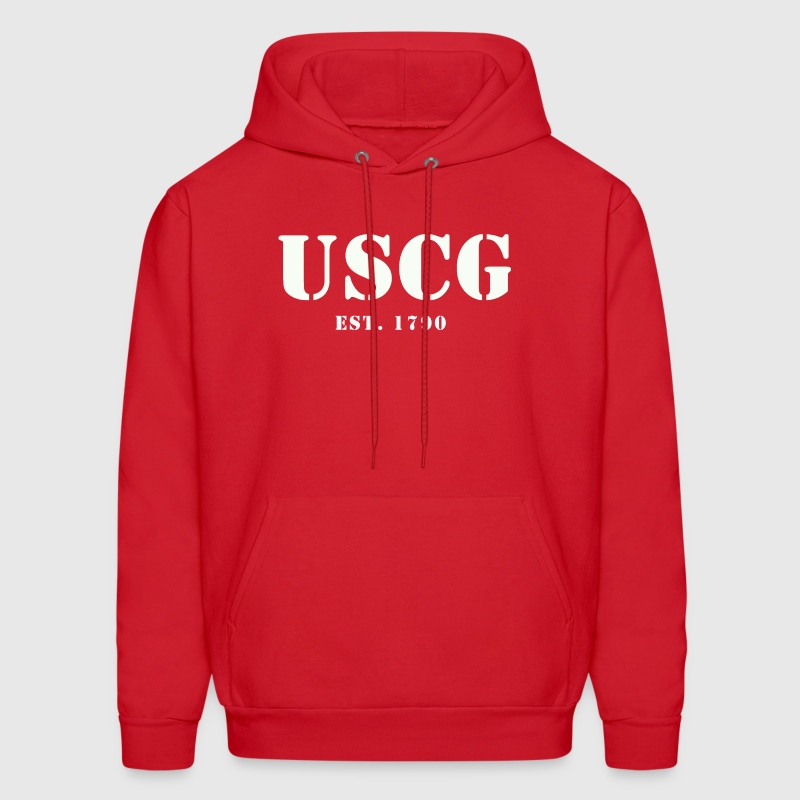US Coast Guard - Men's Hoodie