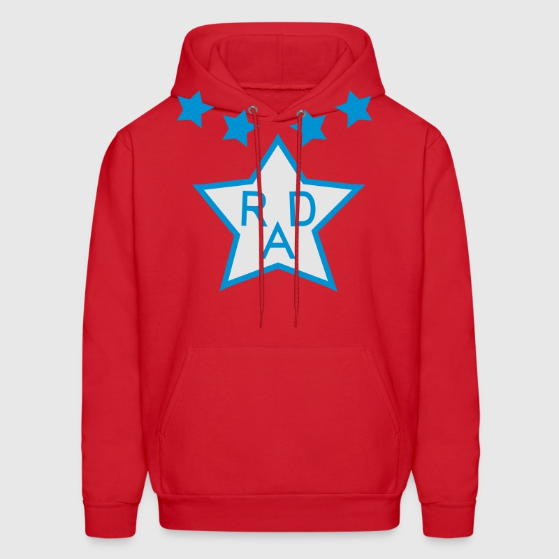 Cru Jones' BMX Rad Racing Uniform Design - Men's Hoodie