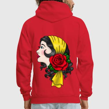 Tattoo Gypsy American Tattoo - Men's Hoodie