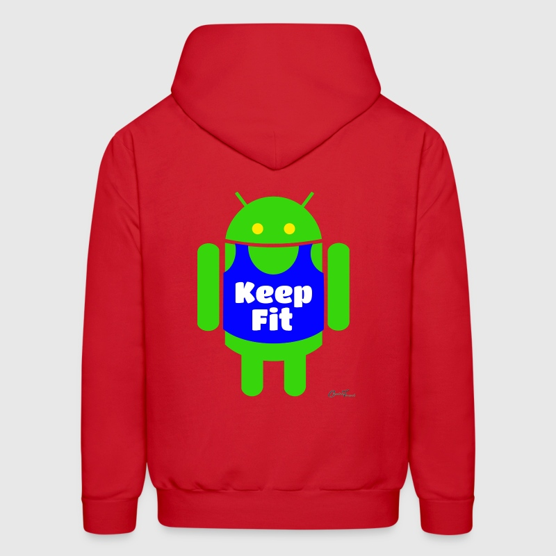 Keep fit - Men's Hoodie