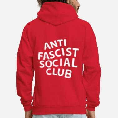 Anti-fascist Anti Fascist Social Club - Men's Hoodie