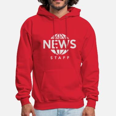 Staff Bull Fake News Staff - Men's Hoodie