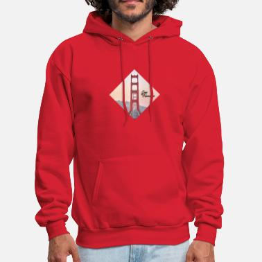 Golden Gate Golden Gate - San Francisco - Men's Hoodie