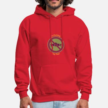 No Parking - Men's Hoodie