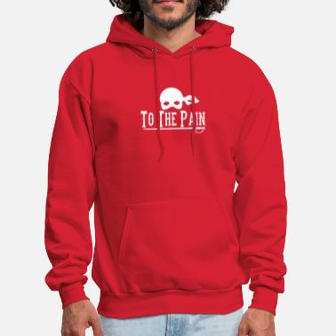 Pain To The Pain - Men's Hoodie