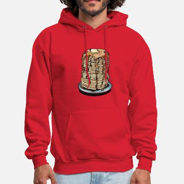 Graphic Tower Of Pancakes Graphic - Men's Hoodie