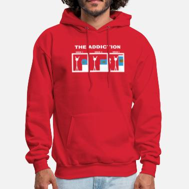 Aquarium Funny The addiction of aquariums - Men's Hoodie