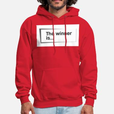 Winner THE WINNER IS... - Men's Hoodie