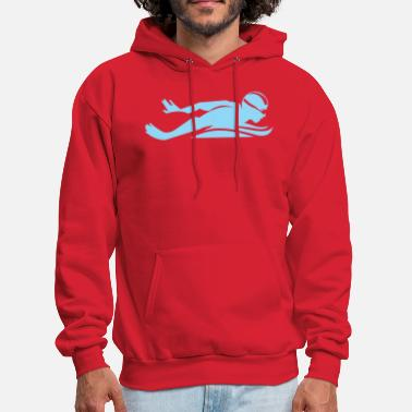 Competition swimming competition - Men's Hoodie