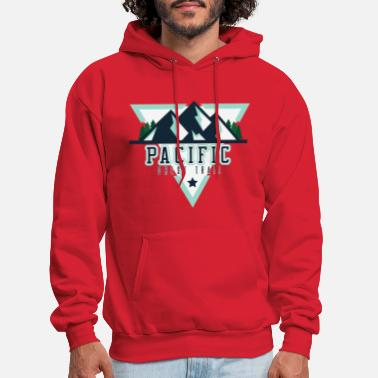 Canadian Pacific Pacific Crest Trail USA Shirt - Men's Hoodie