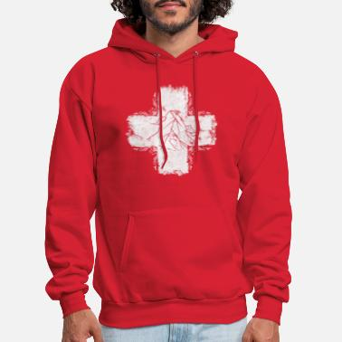 Swiss German Swiss cross - Switzerland - Swiss - Men's Hoodie