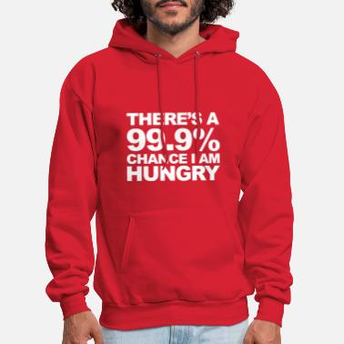Funny Sayings Hungry - Men's Hoodie