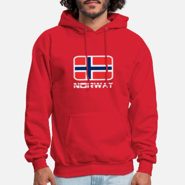 Norway Norway Flag - Men's Hoodie