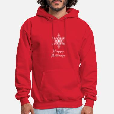 Happy Holidays Happy holidays - Men's Hoodie