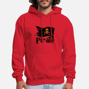 Pirate Flag Pirate Flag - Men's Hoodie
