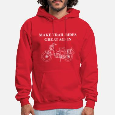 Make Trail Rides Great Again - Men's Hoodie