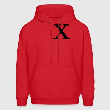 X : Malcolm X inspired - Men's Hoodie